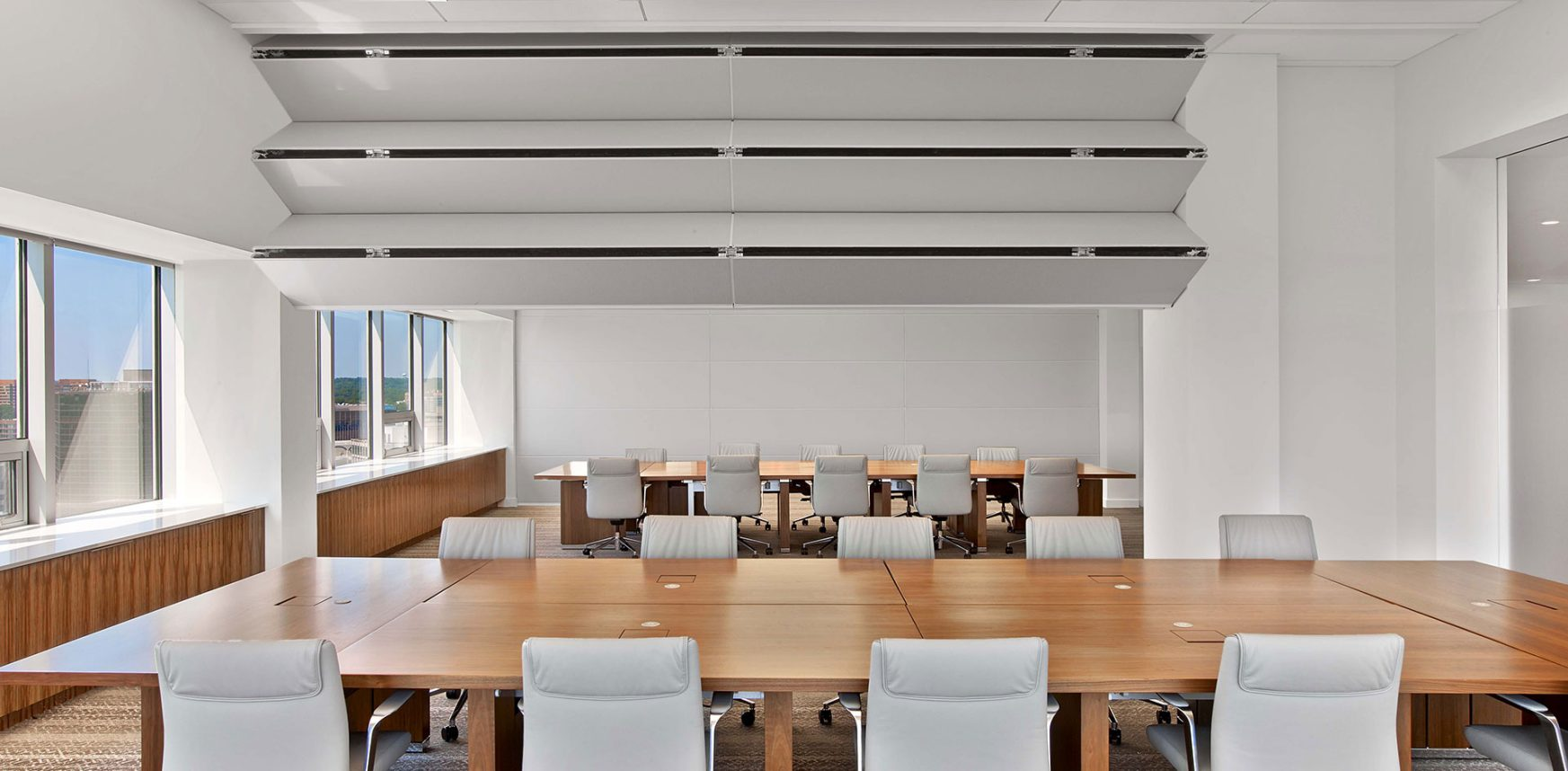 Skyfold Classic NR vertical retractable acoustic walls