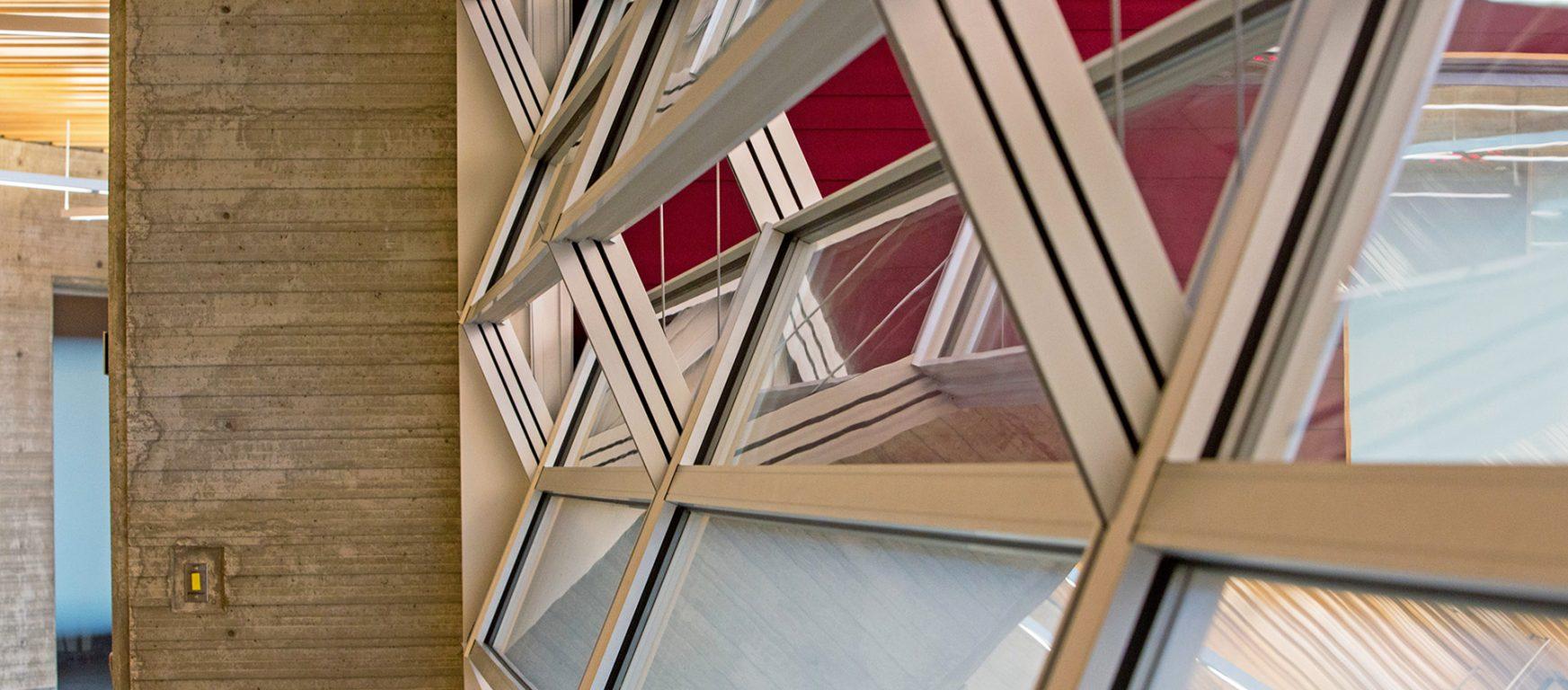 Skyfold Mirage vertical retractable glass walls