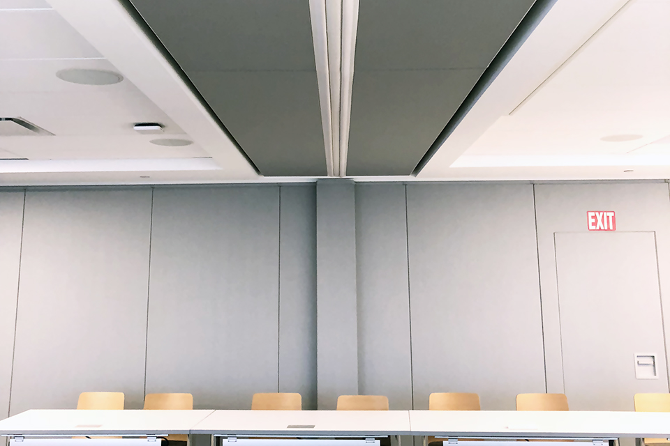 skyfold retractable vertical wall
