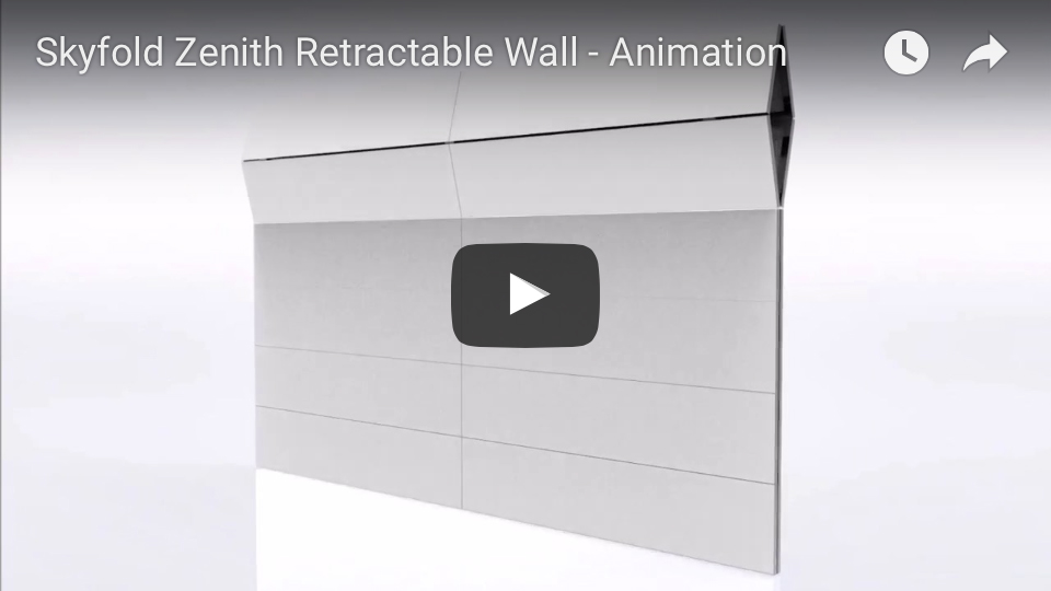 Skyfold Zenith Series animation