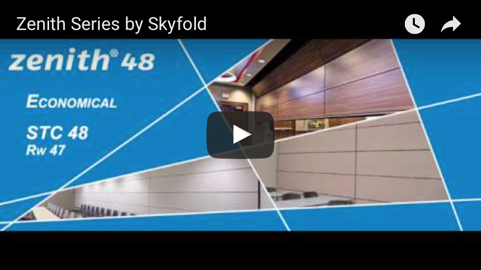 Skyfold Zenith Series youtube