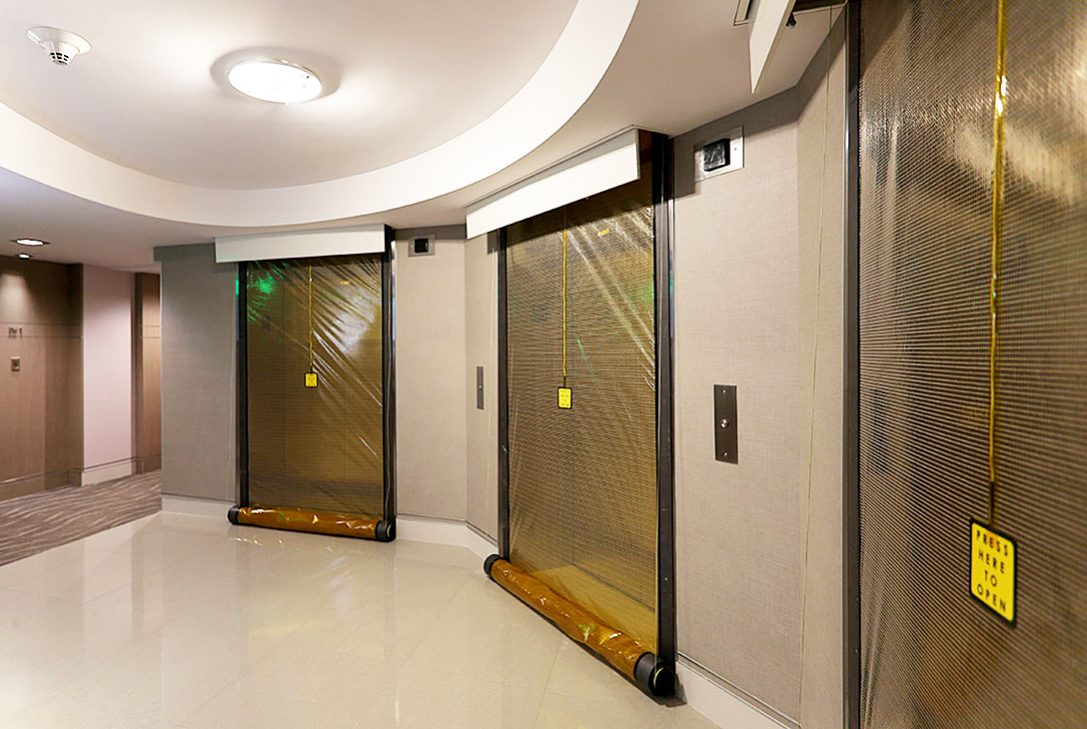 Smoke Guard M200 elevator smoke protection