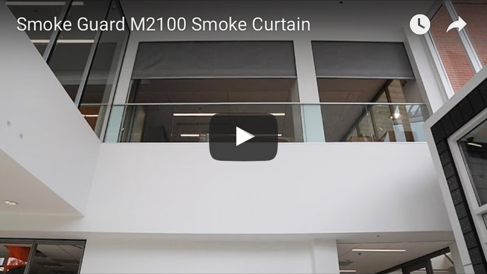 Smoke Guard M2100 Smoke Curtain youtube video