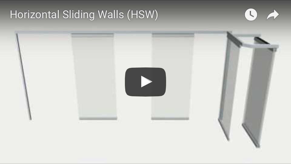 Sunflex Horizontal Sliding Walls animation