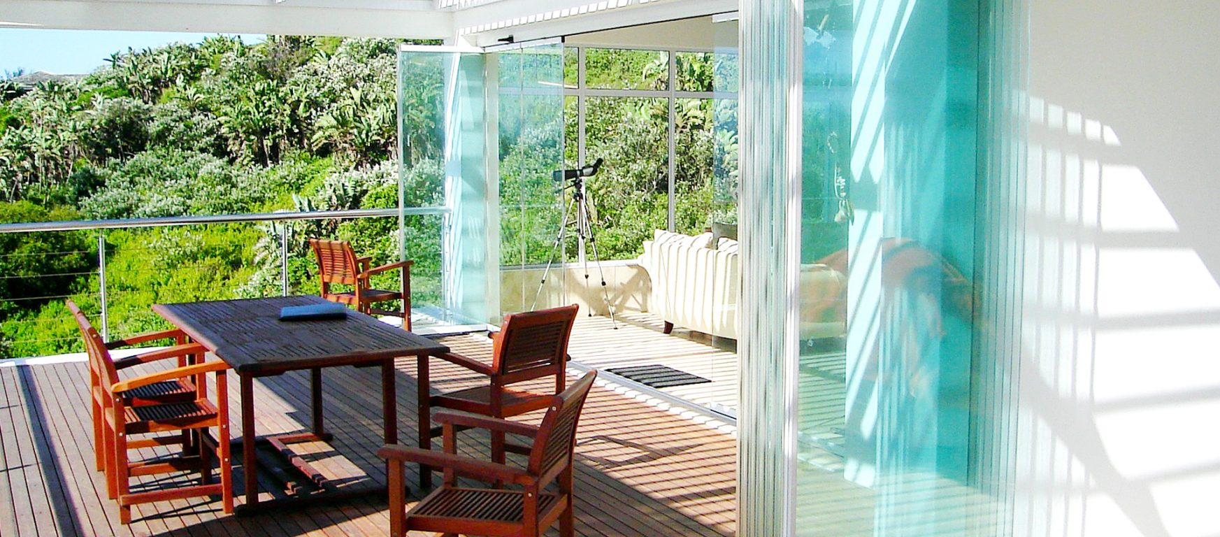 Sunflex SF 25 exterior glass panels