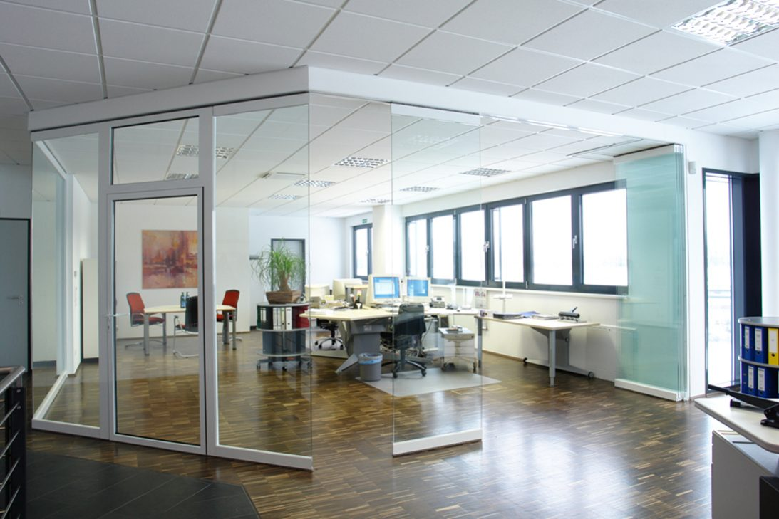 Sunflex SF40 HSW glass office front