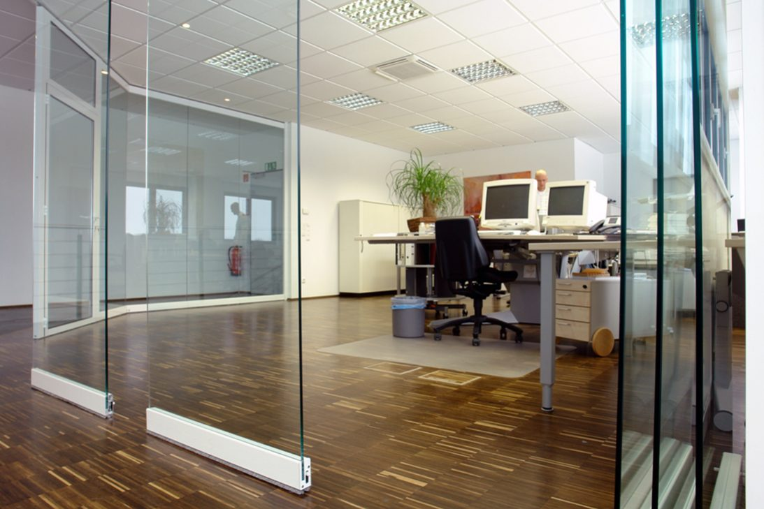 Sunflex SF40 HSW office glass walls