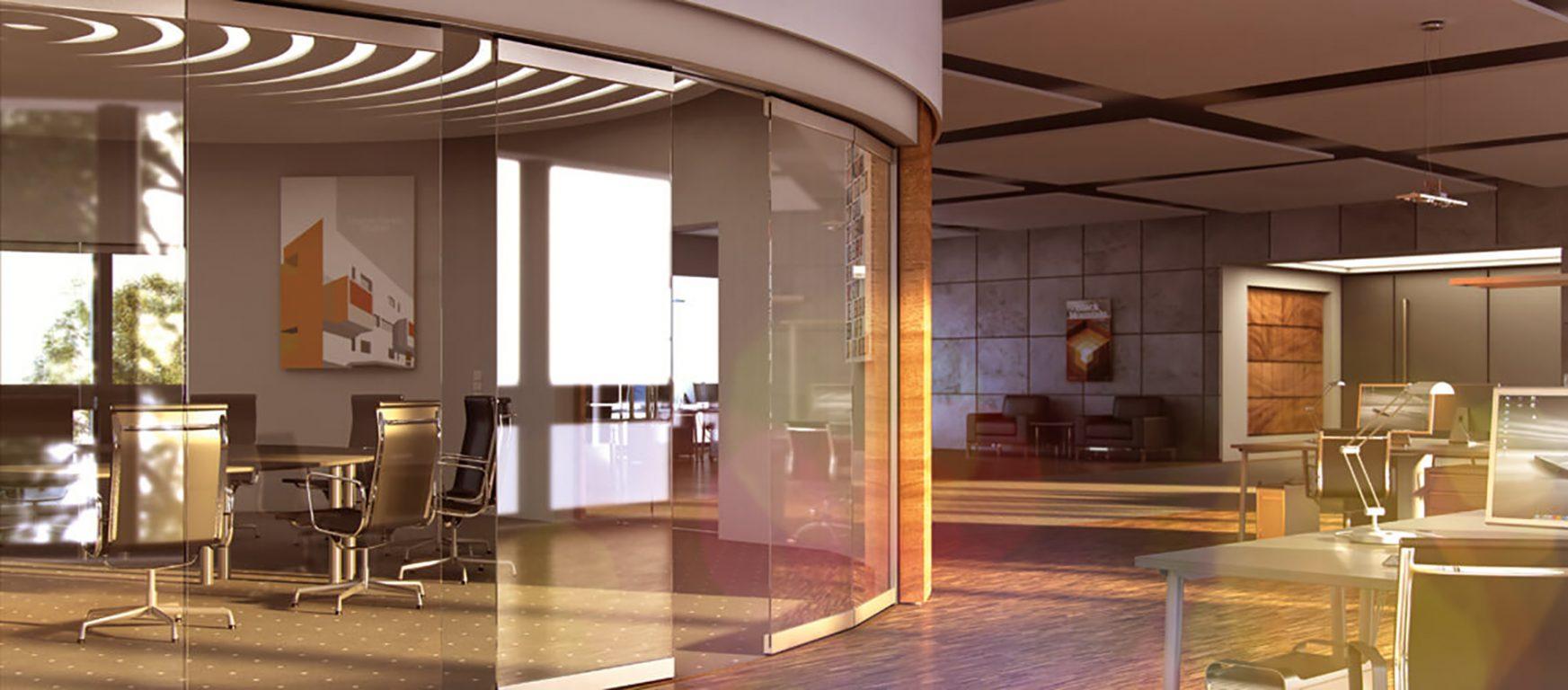 Sunflex SF 40 HSW sliding glass walls