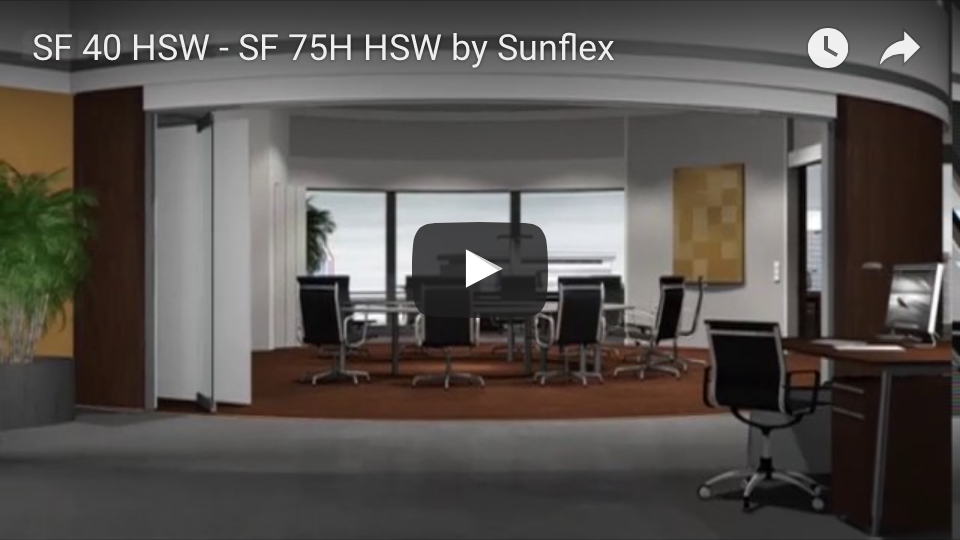 Sunflex SF 40 HSW - SF 75H HSW youtube