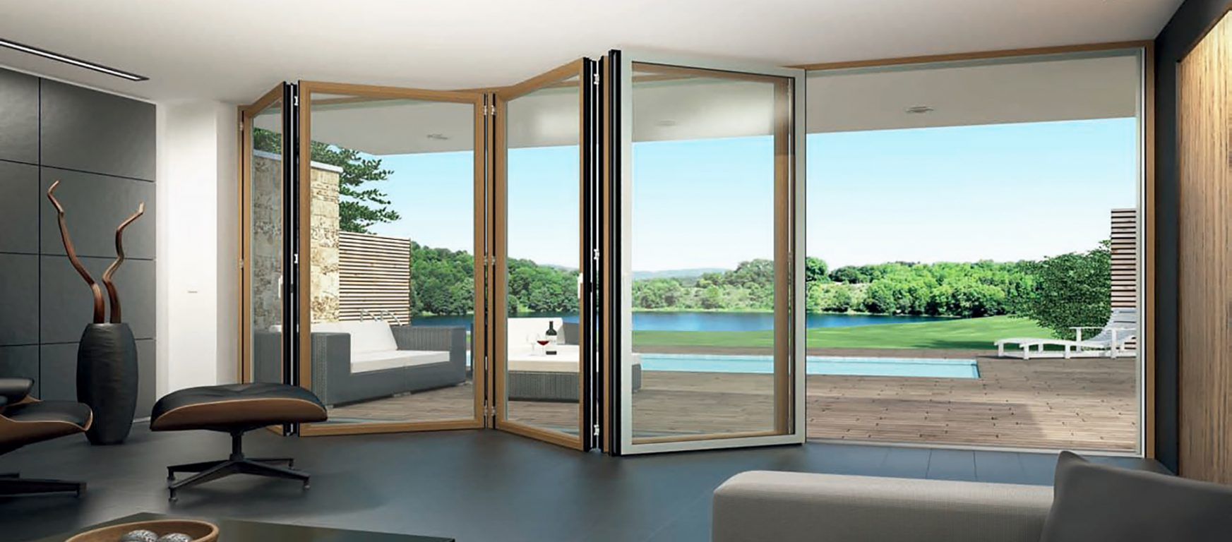 Sunflex SF 50c Folding Glass Doors