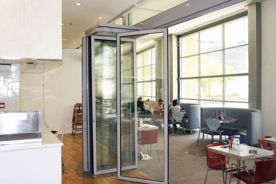 sunflex sf 55 hsw folding glass partitions