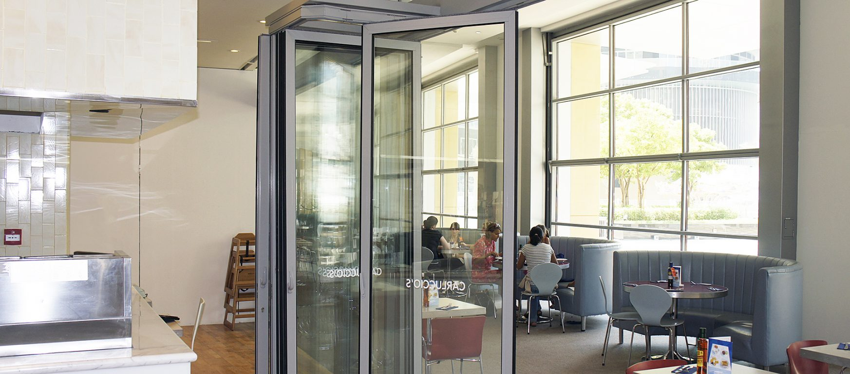 Sunflex SF 55 HSW sliding glass doors