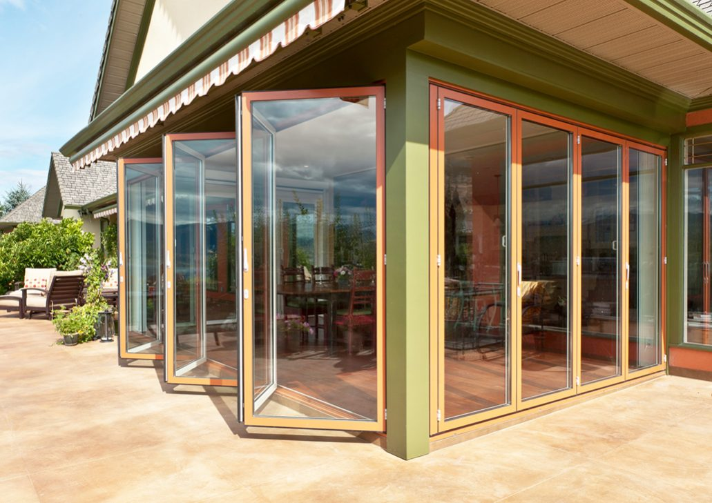 sunflex sf75 bifolding sliding glass doors