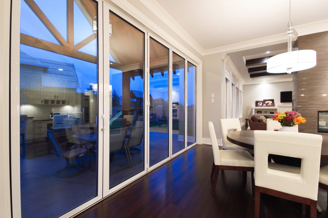 sunflex sf75 bifolding glass doors