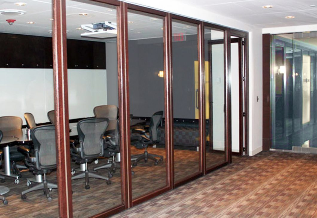 Sunflex SF 75H HSW framed glass doors