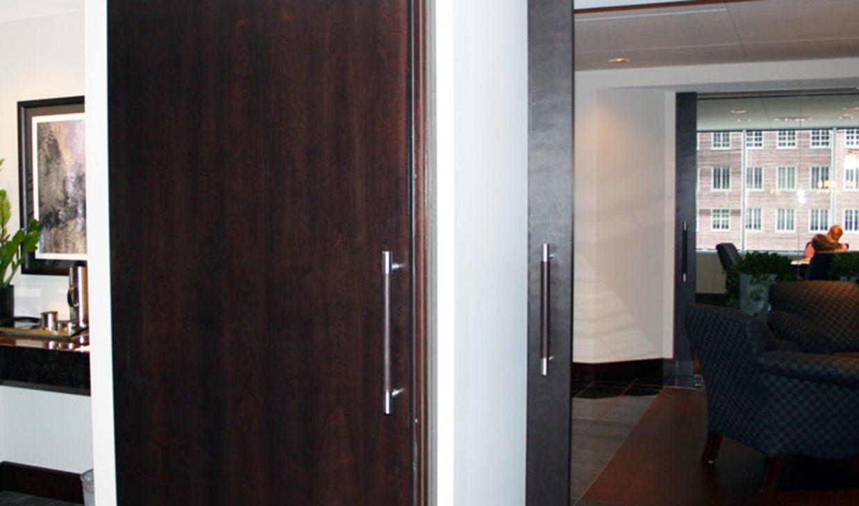 SUNFLEX SF 75H HSW framed glass doors